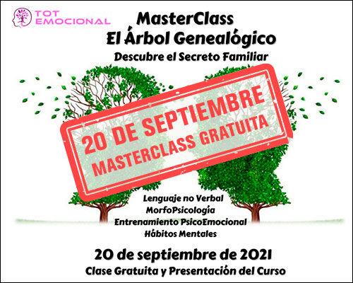 """MasterClass Gratuita del Curso """"El Árbol Genealógico"""""""